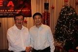 董事长与中国外交部部长助理刘建超